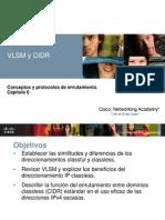 Ccna II - Capitulo 6 (Vlsm y Cidr)