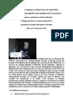 Teologia Postpatristica Din Perspectiva Ecleziala-Mitropolit Hierotheos Vlachos