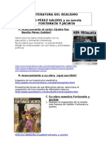 Galdós y su novela Fortunata y Jacinta