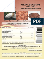 Rotulo de Chocolate 03