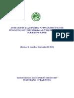 AML CFT Regulations