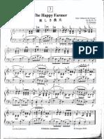 Suzuki Piano School Volume 2-The Happy Farmer