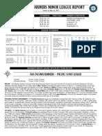 06.01.13 Mariners Minor League Report