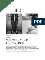 Matus VIOLENCIA POLICIAL CONTRA NIÑOS