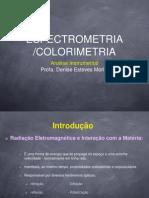 485761254.Colorimetria espectrofotometria