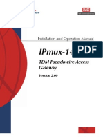 Rad Ipmux-14 User Guide