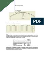 Diseño de estructura tipo arco para techos