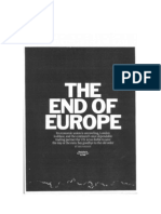 End of Europe