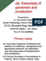 Ayurveda Essentials of Temperaments and Constitutions 1196851087410663 5