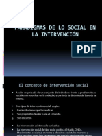 Clase 2 Paradigmas de Lo Social