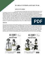 Martian Force List
