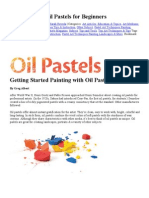 Painting With Oil Pastels for Beginners