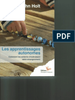 Holt Les ApprentissagesAutonomes