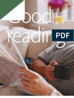 Good Reading (Graphic Exchange Feb.2002)