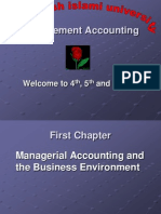 Chapter#01 Managerial Accounting and the Business Environment