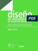 Estudio Diseno Indumentaria Autor Argentina 2012 Inti Ultimo