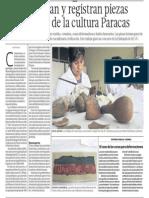 Restauracion Piezas Cultura Paracas