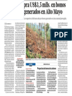Disney Compra Bonos Carbonos Amazonia Peru