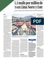 Negocio de Los Malls en Peru