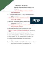Ejercicicios APA - Bibliografia