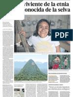 Ultima Sobreviviente Etnia Amazonica de Peru