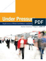 Implications of Work Life Balance and Job Stress