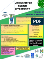 NEBOSH IGC Brochure 2nd Batch PK June 2013