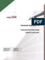 Psc Design (Aashto-lrfd tyu07) Tutorial