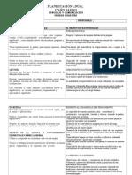 FORMATO PLANIFICACION ANUAL-SEMESTRAL-LENGUAJE 1º A 8º AÑO