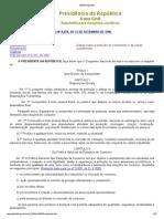 LEI Nº 8.078, DE 11 DE SETEMBRO DE 1990 - compilado