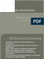 CHAPTER 1 - Introduction to Accounting