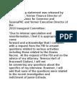 Goff Statement