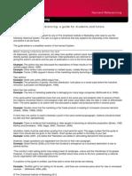 CIM Harvard Referencing_2012