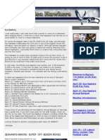 Military Sea Hawkers April 2013 Newsletter