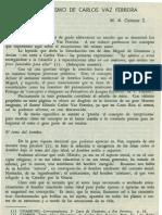 Campos. M.a - El Esepticismo de Carlos Vaz Ferreira