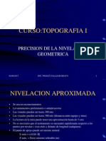 Precision de La Nivelacion -Topo i Civil