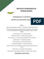 PROBABILIDAD Y ESTADÍSTICA UNIDAD 3