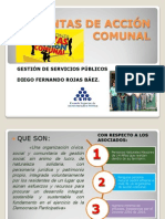 JUNTAS DE ACCIÓN COMUNAL