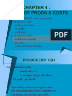 Ch 4 Theory Prodn & Cost