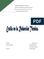Estilo en La Redaccion Tecnica- Trabajo de Ildemaro Para Exposicion-1234