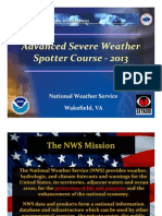 Advanced Skywarn Presentation