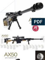 Accuracy International AX50 Brochure