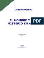 Ossendowski, Ferdinand - El Hombre y El Misterio en Asia Copia