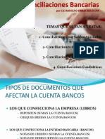 Tipos de Conciliaciones Bancarias