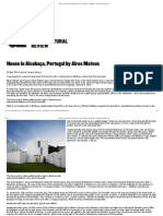 House in Alcobaça, Portugal by Aires Mateus _ Buildings _ Architectural Review