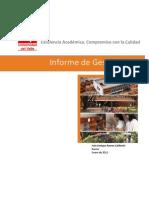 Informe de Gestion Publicado 2012