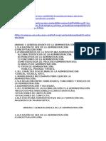 Generalidades de La Administracioon