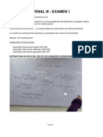 Penal III - Examen 1