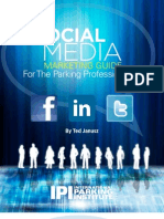 Social Media Marketing Guide for the Parking Professional