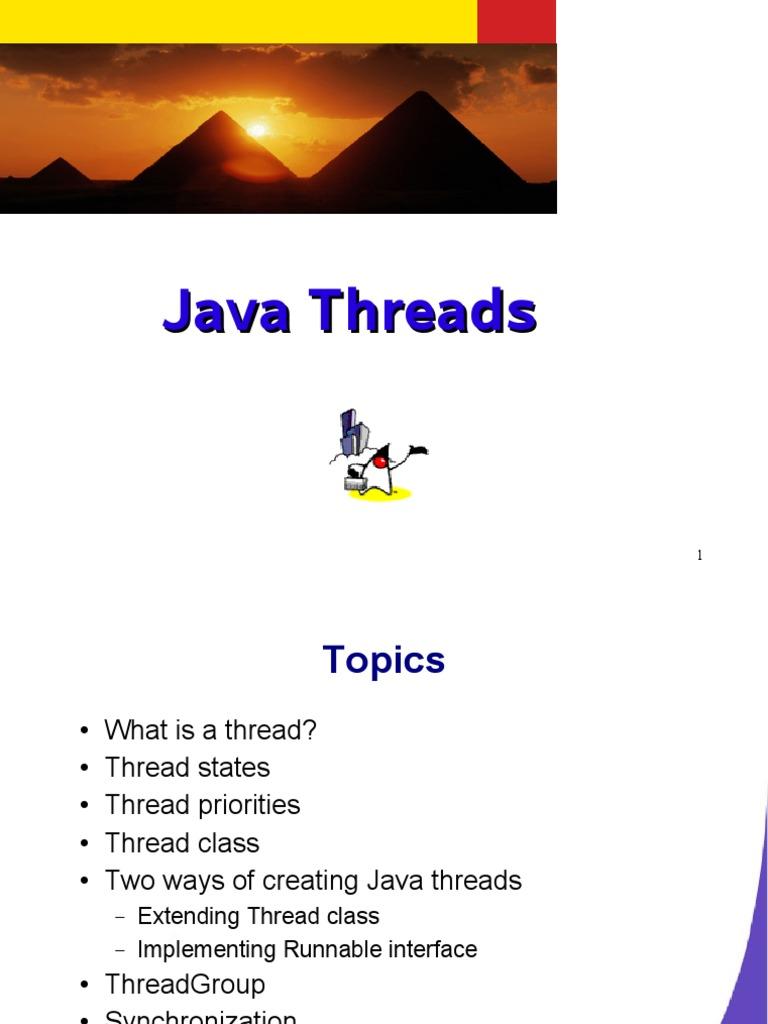 Java threads method computer programming thread computing baditri Gallery